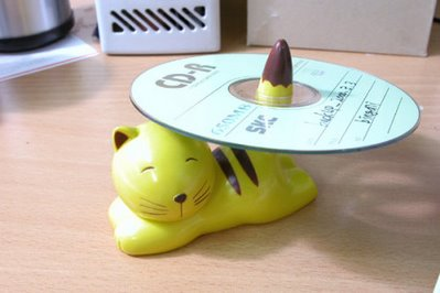 cat for cd case