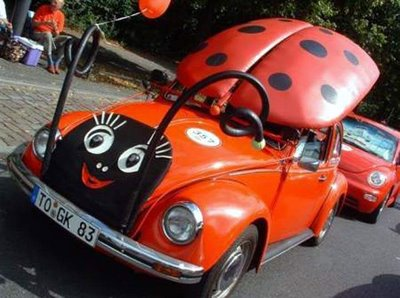 ladybird bug car