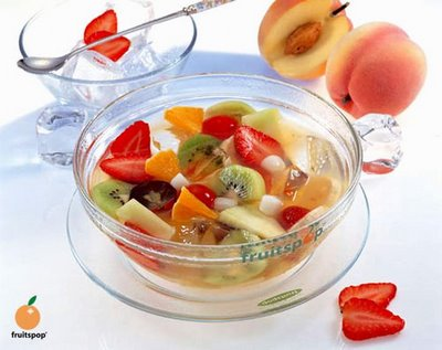 fruitspop dessert menu for your last meal - mix fruit in bowl