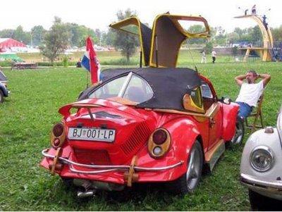 futuristic volkswagen back to the future