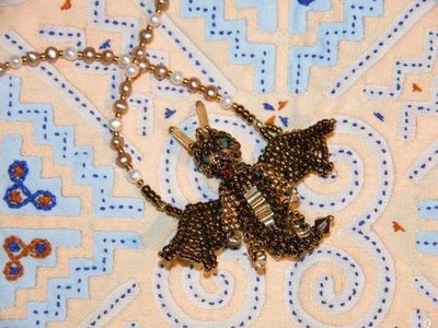 bead decoration for necklace