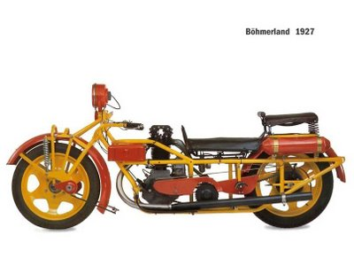 innovation and new experiment on motorbike