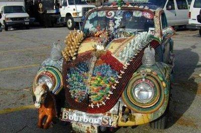 nice decoration at volkswagen type 1