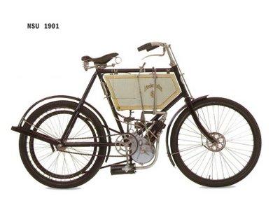 old motorcylce