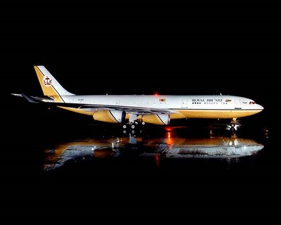 sultan of brunei private aeroplane