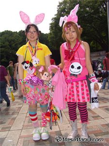 japanese teenager with new made fashion
