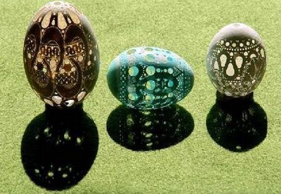 amazing unique egg shell carving
