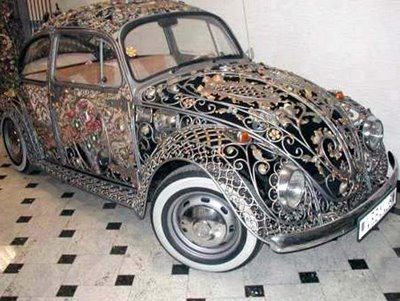 very unique and elegent art on volkswagen
