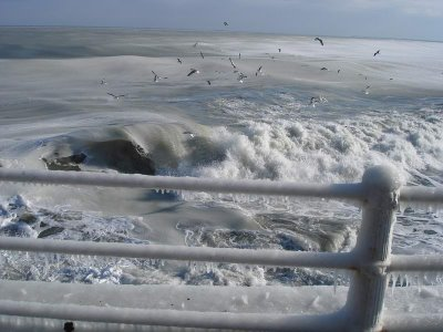 have you ever seen frozen sea?