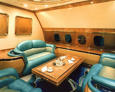 airplane living room. very nice