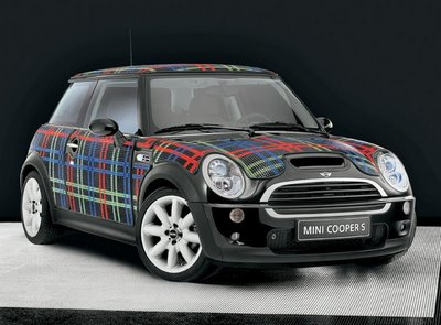 mosaic as mini cooper skin