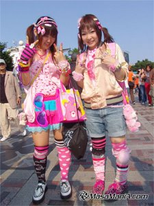 new fashion spread widely among japanese teenage