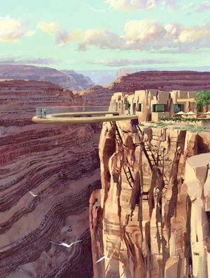 experience walking on sky with Skywalk of Grand Canyon