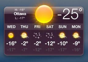 [Ottawa temperature 2007-01-17]