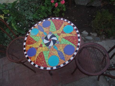 C a n el colectivo art stico navide o mosaicos mesas for Mesas de mosaico