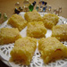 Coconut Cream Burfi by Anupama