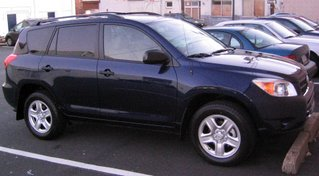 My new car - 2007 Toyota RAV4 V6