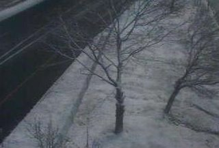 Thruway Webcam snowfall