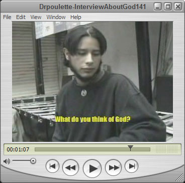 Interview about God
