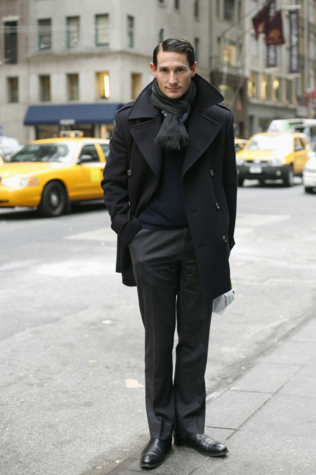 Tailored Pea Coat