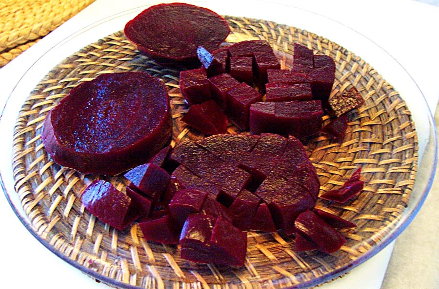 how to cut beets into cubes