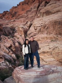 Carmen and Ronnie at Red Rock