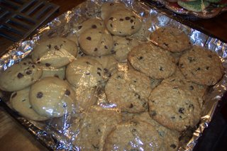 And that would be Chocolate Chip and Oatmeal Raisin.