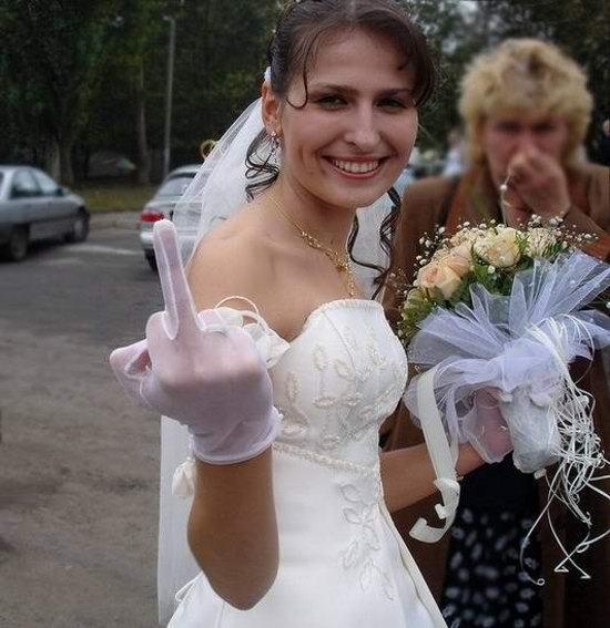 фото невесты подсмотрели