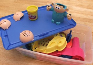 playdoh salon set