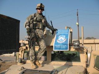 Josh Arthur CC04 Columbia banner Baghdad 2