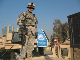 Josh Arthur CC04 Columbia banner Baghdad 3