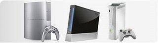 Sony PlayStation 3 * Nintendo Wii * Microsoft XBOX 360