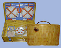 Picknick-Koffer - Blechdose