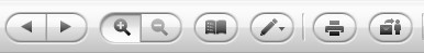 Zinio digital reader interface