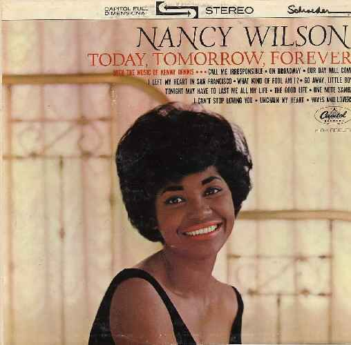 Nancy Wilson Face It Girl Its Over The End Of Our Love