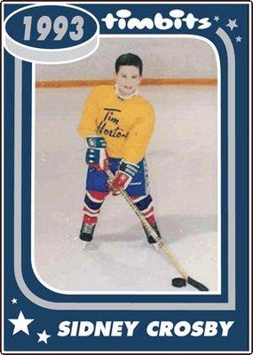 Sidney Crosby Timbit