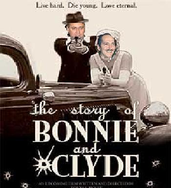 Bonnie Parker Rebelo&Clyde Barrow Calheiros
