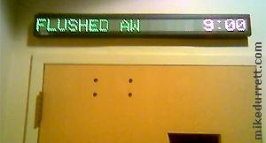 Flushed Aw, eww.