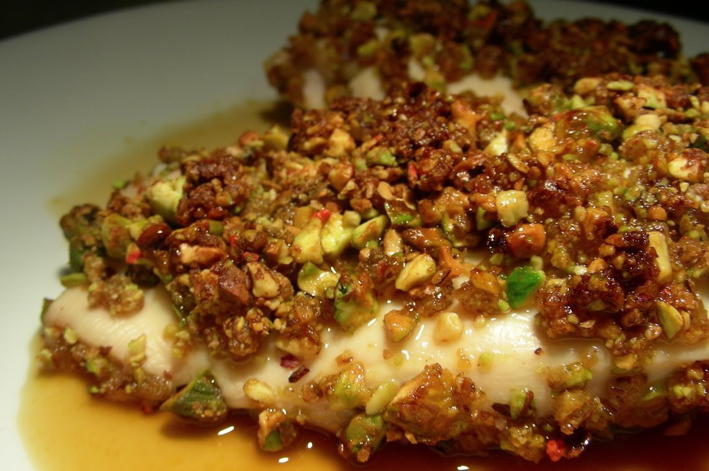 Frenchtown Kitchen: Ginger-Pistachio Encrusted Chicken