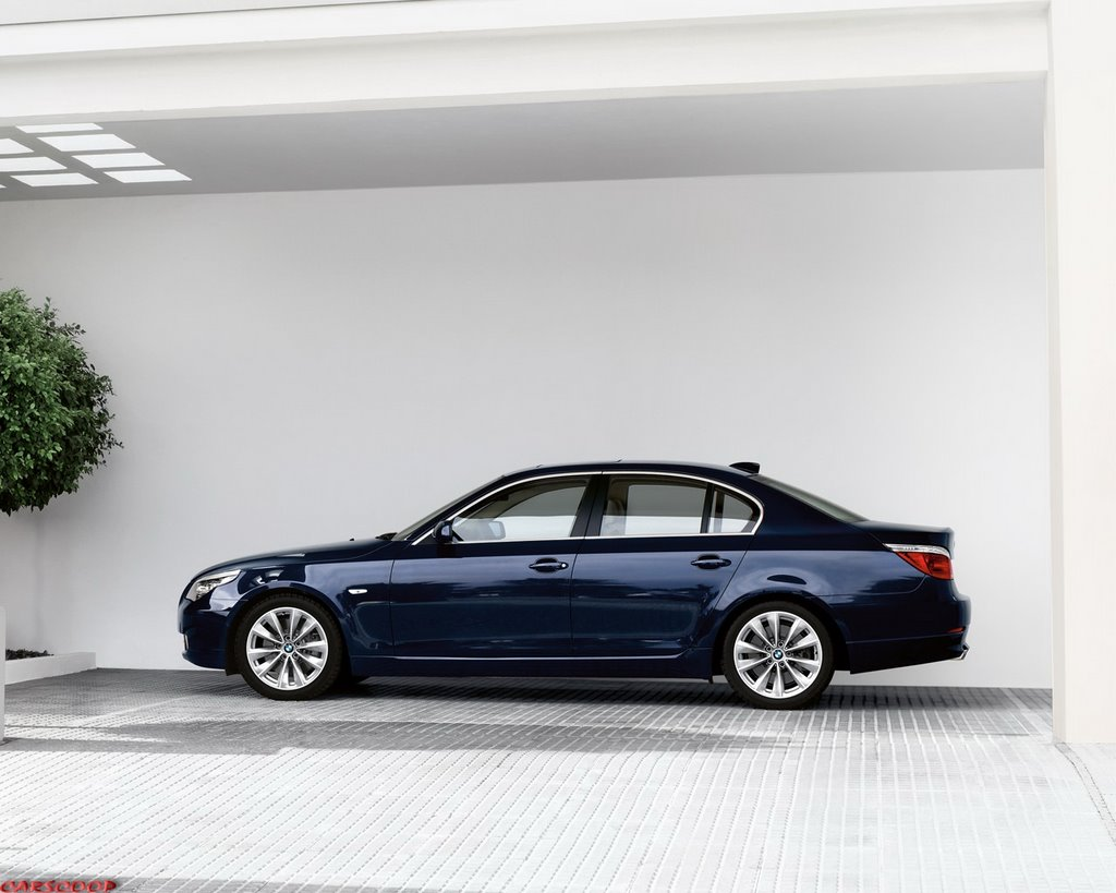 2007 Bmw 5 Series Facelift Official Carscoops