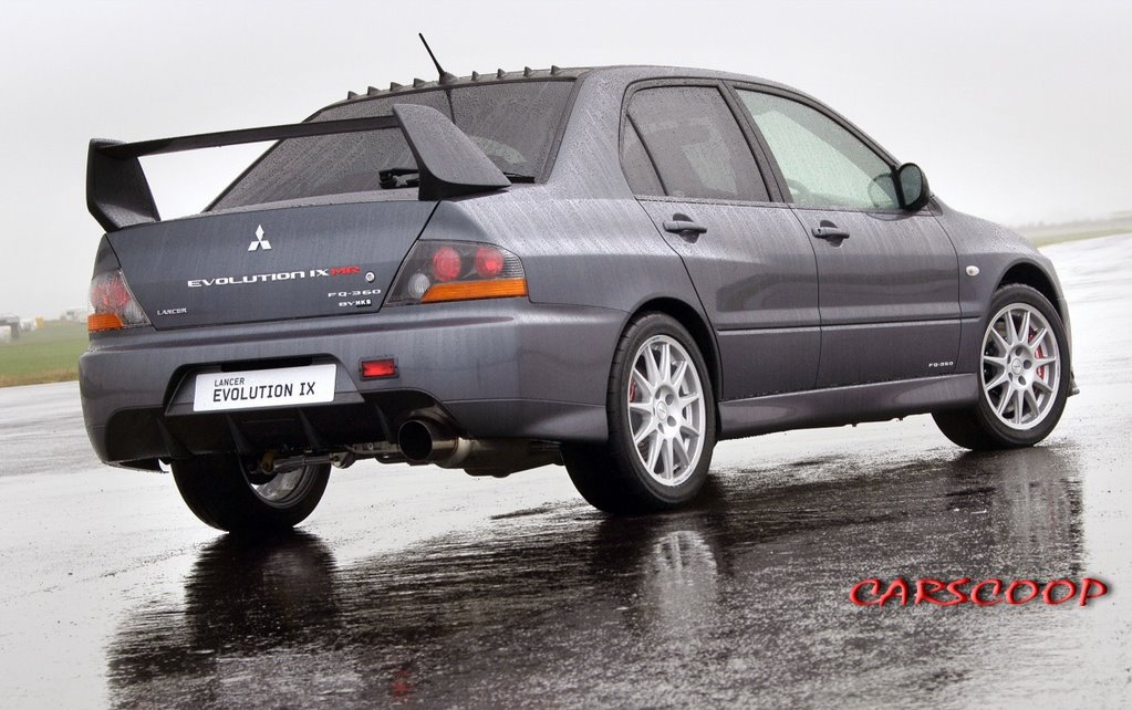 Mitsubishi Lancer Evolution IX MR FQ-360: EVO ends its UK career with a 366Hp limited edition ...