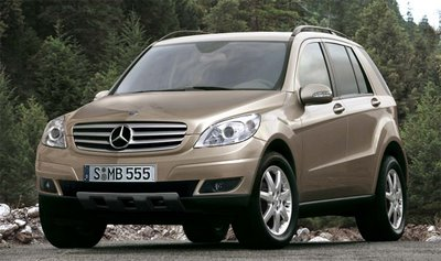 car news new: Scooped: 2008 Mercedes GLK / MLK