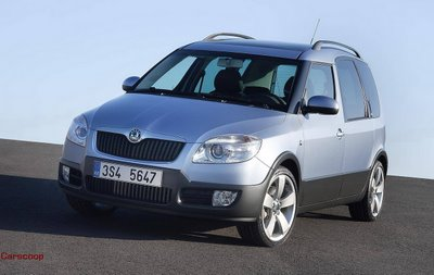 sk1 Skoda Roomster Scout Official