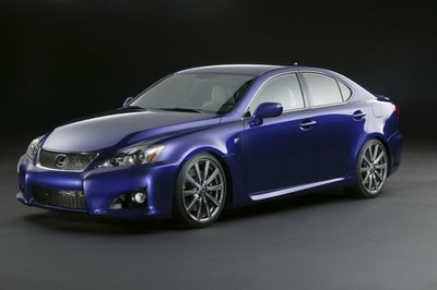 Carscoop IS F 1 Detroit Auto Show: Lexus IS F
