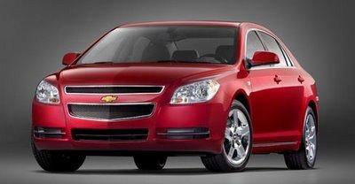 Carscoop Chevrolet Malibu %281%29 2008 Chevrolet Malibu Prices Announced Photos