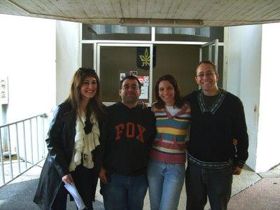 Ayudantes de práctico en la Universidad de Tel Aviv