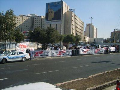 marcha en Jerusalén