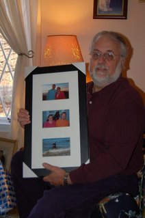Dennis gets a picture frame