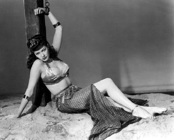 Bikini fame munsters pat picture priest tv wearing