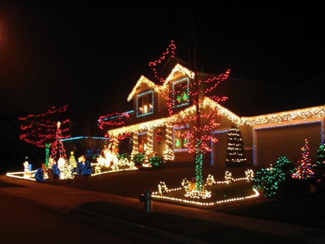 Delightful White And Colored Christmas Lights Part - 6: This Is Another Opposites Question: Which Do You Like Better -- White  Christmas Lights Or Colored? I Think White Lights Are So Classic And  Sophisticated, ...